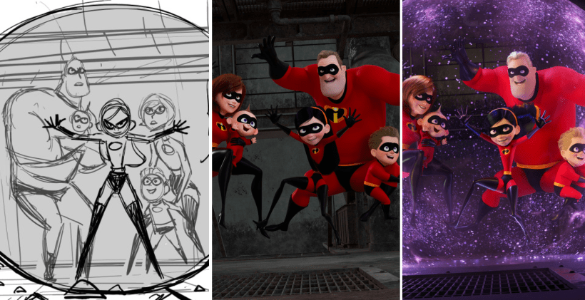 INCREDIBLES2_ProgressionTriptych