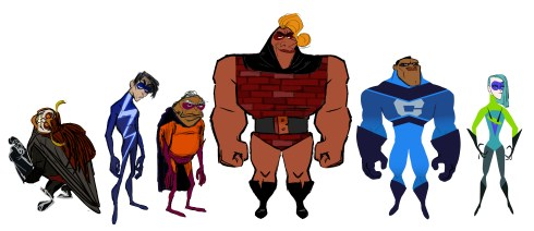 Wannabe Characters Concept art by Deanna Marsigliese, Matt Nolte, Bryn Imagire, Paul Conrad and Tony Fucile. ©2018 Disney•Pixar. All Rights Reserved.