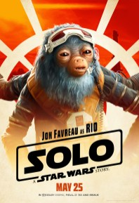 Jon Favreau as Rio in SOLO: A STAR WARS STORY.