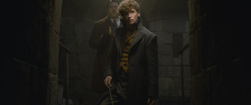 Eddie Redmayne and Dan Fogler star in FANTASTIC BEASTS: THE CRIMES OF GRINDELWALD