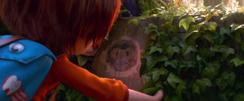 June makes a discovery in Paramount Animation's WONDER PARK