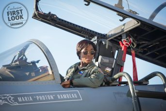 Lashana Lynch co-stars as Maria Rambeau in Marvel Studios' CAPTAIN MARVEL