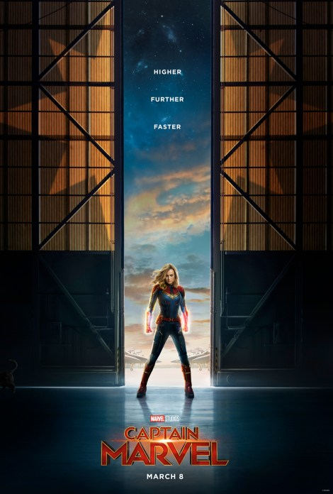 Marvel Studios' CAPTAIN MARVEL One Sheet Poster