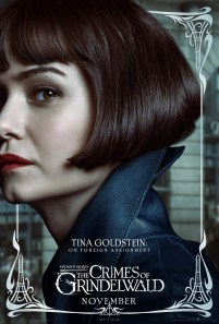 Katherine Waterston as Tina Goldstein in FANTASTIC BEASTS: THE CRIMES OF GRINDELWALD (2018)