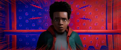 Miles Morales in SPIDER-MAN: INTO THE SPIDER-VERSE (2018)