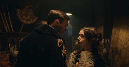 Nicholas Hoult and Lily Collins star in TOLKIEN (2019)