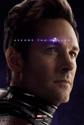 Paul Rudd is Ant-Man in AVENGERS: ENDGAME (2019)