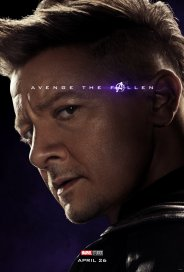 Jeremy Renner is Hawkeye in AVENGERS: ENDGAME (2019)