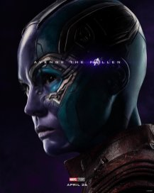Karen Gillan is Nebula in AVENGERS: ENDGAME (2019)