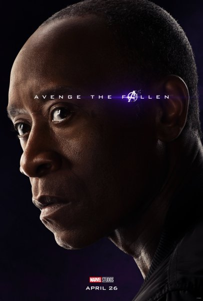 Don Cheadle is War Machine in in AVENGERS: ENDGAME (2019)