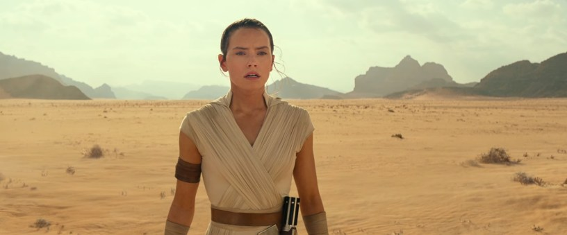 Rey (Daisy Ridley) in STAR WARS: THE RISE OF SKYWALKER.