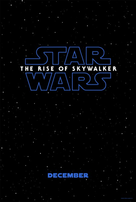 Title poster for STAR WARS: EPISODE IX.