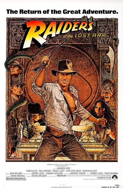 Official Poster for RAIDERS OF THE LOST ARK (1981)