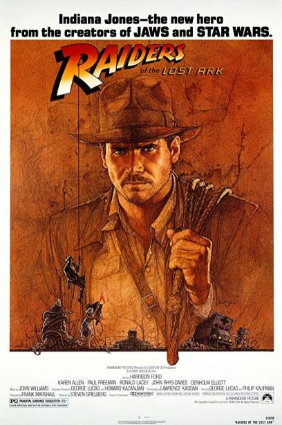 One Sheet Poster for RAIDERS OF THE LOST ARK (1981)