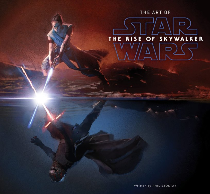 "The cover for the upcoming ""Art Of"" book for STAR WARS: THE RISE OF SKYWALKER (2019)"