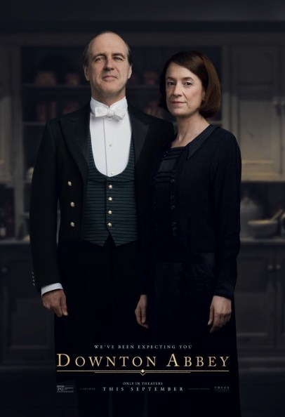 Kevin Doyle and Raquel Cassidy co-star in DOWNTON ABBEY The Movie (2019)