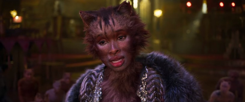 Jennifer Hudson plays Grizabella in the film adaptation of the musical CATS (2019)