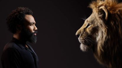 Donlad Glover is the voice of Simba in THE LION KING (2019)