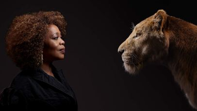 Alfre Woodard is the voice of Sarabi in THE LION KING (2019)