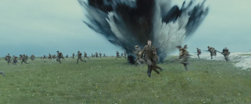 George MacKay stars in the World War I epic 1917 (2019)