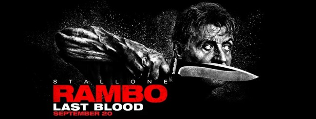 Knife Banner Poster for RAMBO: LAST BLOOD (2019)