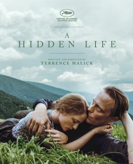 One Sheet for Terrence Malick's A HIDDEN LIFE (2019)