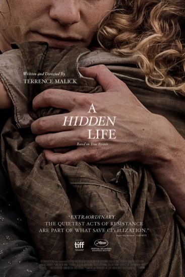 Poster for Terrence Malick's A HIDDEN LIFE (2019)