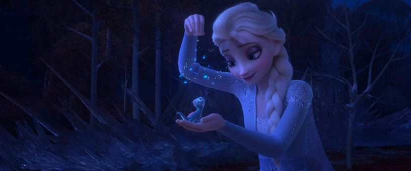 Idina Menzel stars as the voice of Elsa in the Walt Disney Animation sequel FROZEN II (2019)