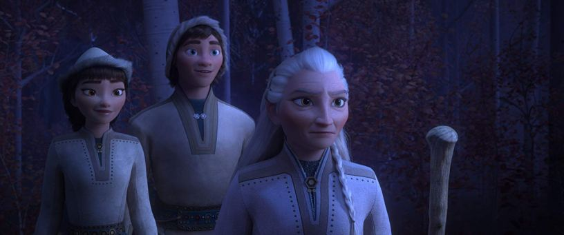 Martha Plimpton co-stars as the voice of Yelana, leader of the nomadic Northuldra tribe, in the Walt Disney Animation sequel FROZEN II (2019)