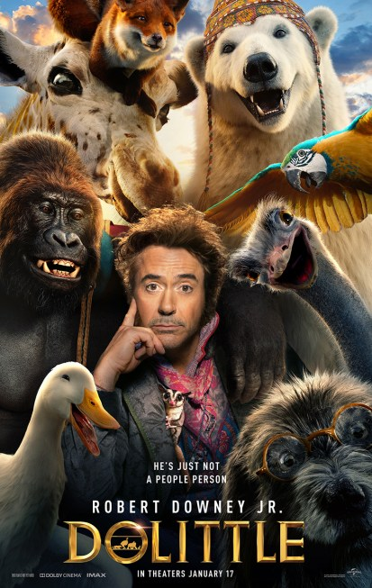 One Sheet Poster for DOLITTLE (2020)