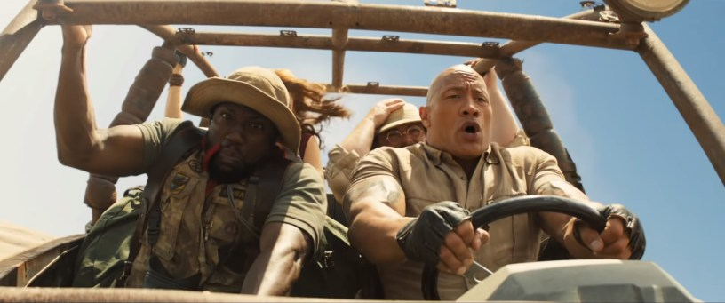 Kevin Hart, Karen Gillan, Jack Black, and Dwayne Johnson star in the action comedy sequel JUMANJI: THE NEXT LEVEL (2019)