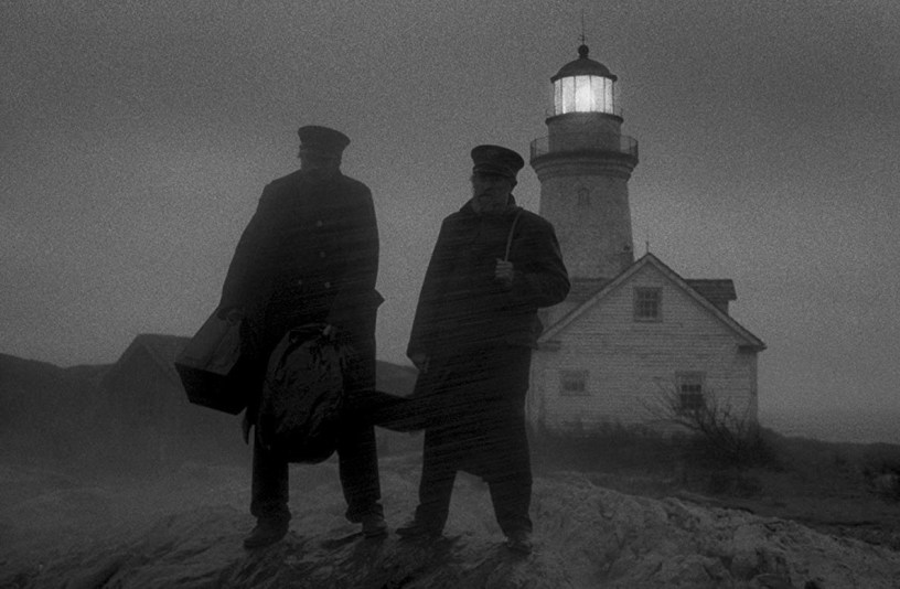 Robert Pattinson and Willem Dafoe star in director Robert Eggers period psychological thriller THE LIGHTHOUSE (2019)
