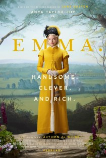 One Sheet Poster for the adaptation of Jane Austen's EMMA (2019)
