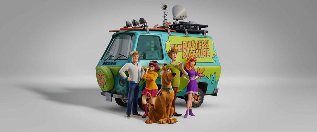 The voices of Zac Efron (Fred), Gina Rodriguez (Velma), Frank Welker (Scooby-Doo), Will Forte (Shaggy), and Amanda Seyfried (Daphne) star in the new animated feature SCOOB! (2020)