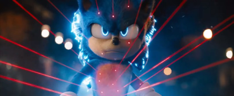 Ben Schwartz stars as the voice of Sonic in the animation / live action hybrid SONIC THE HEDGEHOG (2020)
