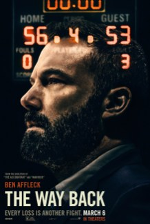 One Sheet Poster for Ben Affleck's sports drama THE WAY BACK (2020)