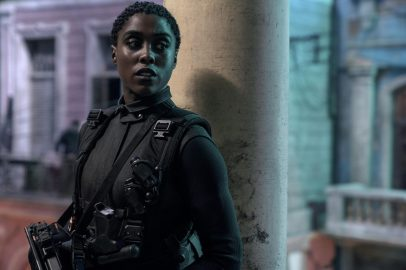 Lashana Lynch co-stars as Nomi, the new Agent 007, in NO TIME TO DIE (2020)