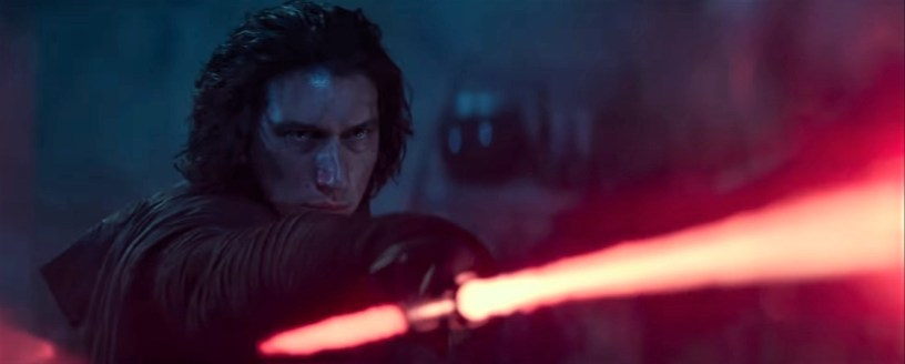 Adam Driver co-stars as Kylo Ren in STAR WARS: THE RISE OF SKYWALKER (2019)