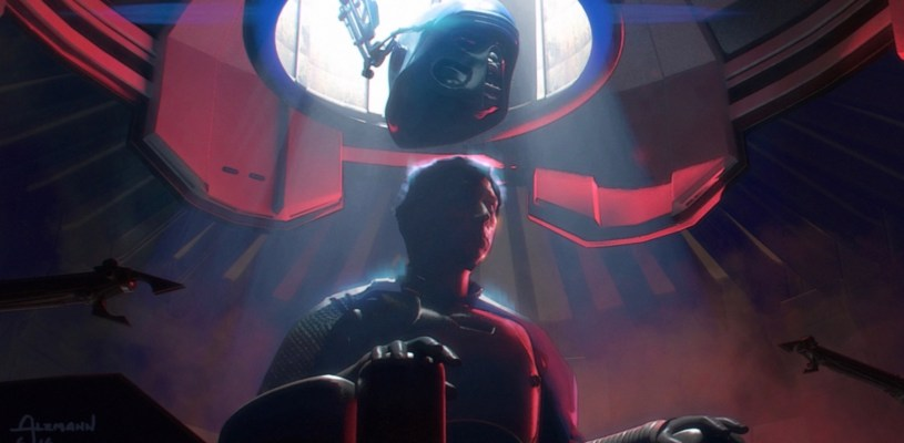 Kylo Ren receives a new helmet in STAR WARS: DUEL OF THE FATES