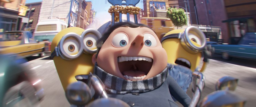 Steve Carell stars as the voice of Little Gru in MINIONS: THE RISE OF GRU (2020)