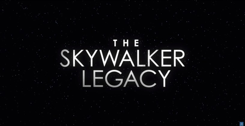 THE SKYWALKER LEGACY is a bonus feature documentary available with the purchase of STAR WARS: THE RISE OF SKYWALKER on home video.