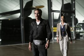 Chris Pine and Gal Gadot return as Steve Trevor and Diana Prince in WONDER WOMAN 1984 (2020)