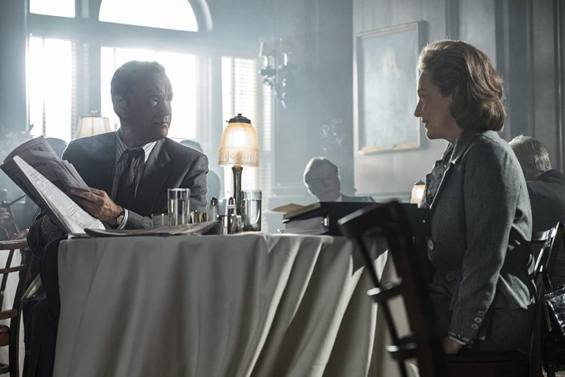 Tom Hanks and Meryl Streep star in Steven Spielberg's Watergate drama about the Pentagon Papers, THE POST (2017)