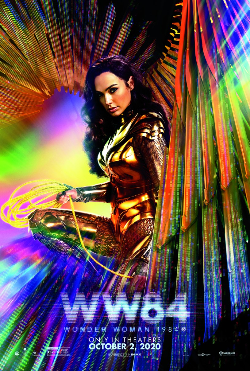 Official October 2020 Release Poster for WONDER WOMAN 1984 (2020)