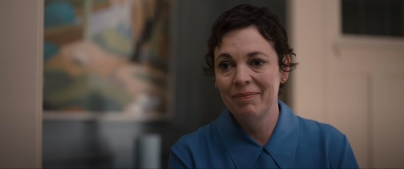 Olivia Colman co-stars as the daughter of a man battling dementia in THE FATHER (2020)