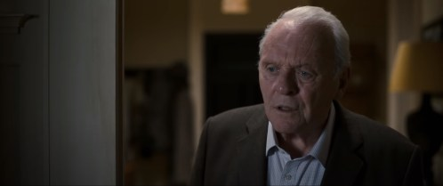 Anthony Hopkins stars as a man battling dementia in THE FATHER (2020)