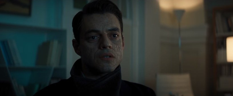 Rami Malek co-stars as new Bond villain Safin in NO TIME TO DIE (2020)
