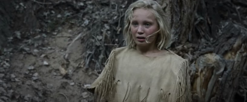Young German actress Helena Zengel co-stars in the Western from director Paul Greengrass, NEWS OF THE WORLD (2020)