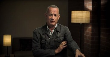 Tom Hanks talks about his role in NEWS OF THE WORLD (2020), co-written and directed by Paul Greengrass.