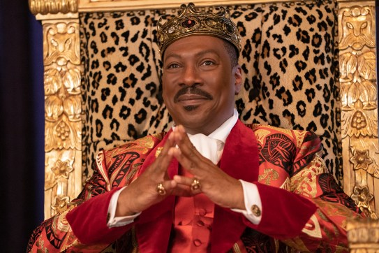 Eddie Murphy reprises his role as Prince Akeem (now King) in COMING 2 AMERICA Photo Courtesy of Amazon Studios
